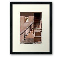 Stairway Of Jaipur Framed Print