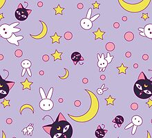 Sailor Chibimoon Pattern by Rickykun