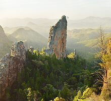 The Bread Knife, Warrumbungles, New South Wales, Australia by Michael Boniwell