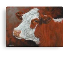 Fabulous Freda Canvas Print