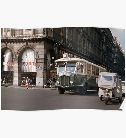 French public transport 19570920 0001  Poster