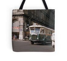 French public transport 19570920 0001  Tote Bag