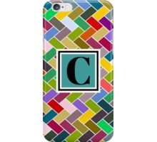 C Monogram iPhone Case/Skin