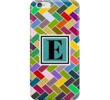 E Monogram iPhone Case/Skin