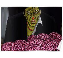 Zombie Tony Montana Poster