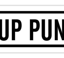 Pup Punk Sticker
