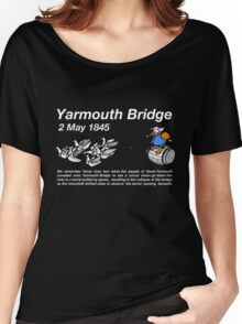Yarmouth Bridge (Dark) Women's Relaxed Fit T-Shirt