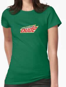 Mountain Dude Womens Fitted T-Shirt