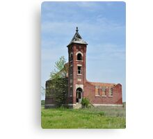 Old Brick Building Built 1913 Canvas Print