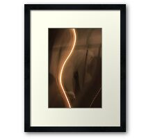 Something in the picture Framed Print