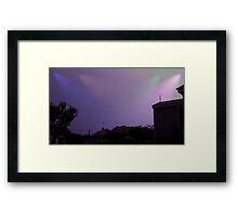 May 1 2012 Morning Storm 6 Framed Print