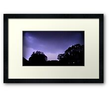 May 1 2012 Morning Storm 15 Framed Print