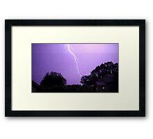 May 1 2012 Morning Storm 21 Framed Print