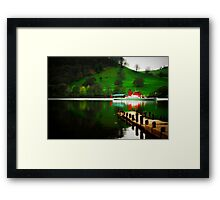 """""""LADY OF THE LAKE"""" Framed Print"""