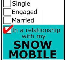 In A Relationship With My Snow Mobile by cmmei