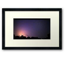 May 1 2012 Morning Storm 30 Framed Print