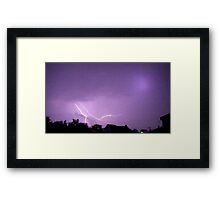 May 1 2012 Morning Storm 35 Framed Print