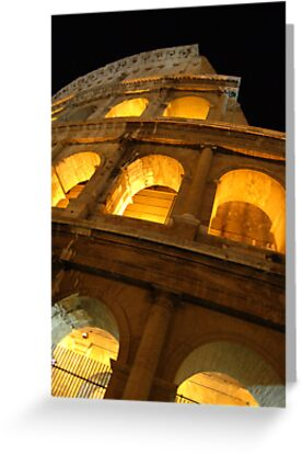 The Colosseum Roma by Saraina Williams