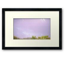 May 1 2012 Morning Storm 47 Framed Print