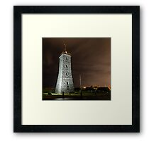 Time tower - Williamstown Framed Print