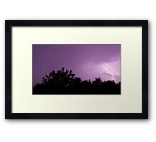 May 1 2012 Morning Storm 56 Framed Print