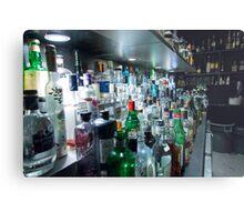 Drinks Bar Metal Print