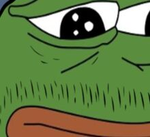 Pepe smoke frog  Sticker