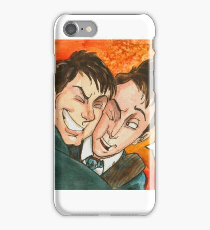 Jack Doctor Hug iPhone Case/Skin