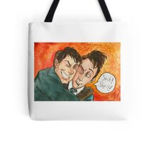 Jack Doctor Hug Tote Bag
