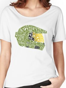 Halo text Art Women's Relaxed Fit T-Shirt