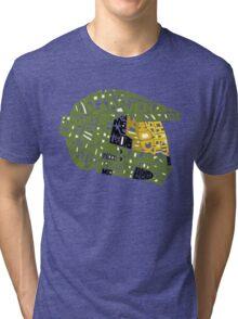 Halo text Art Tri-blend T-Shirt