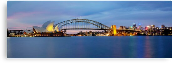 The Other Side - Sydney Panorama by Maxwell Campbell