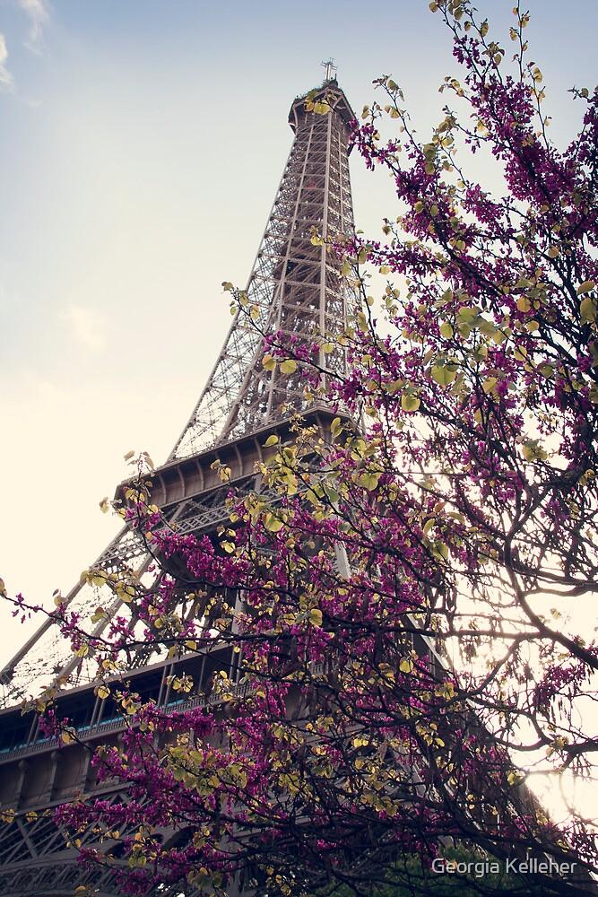 Eiffel in Spring by Georgia Kelleher