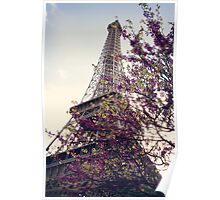 Eiffel in Spring Poster