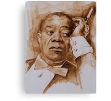 Louie... Having A Break Canvas Print