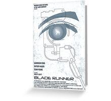 BLADE RUNNER (White-Voight Kampf Test Version) Greeting Card
