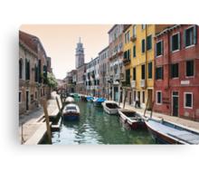 Street scene, Venice Canvas Print