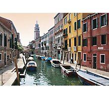 Street scene, Venice Photographic Print