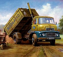 Dodge tipper. by Mike Jeffries