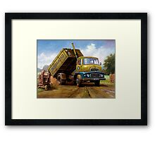 Dodge tipper. Framed Print