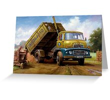 Dodge tipper. Greeting Card