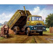 Dodge tipper. Photographic Print