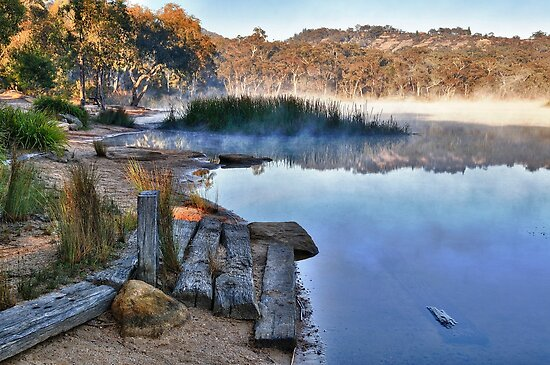 Early Morning at Dunns Swamp by Ian Berry