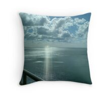 Sea and Cloud Throw Pillow