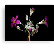 Little Flowers Canvas Print