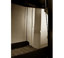 The Daily Grind  #1 Hook Hoist Photographic Print
