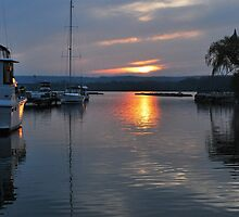 Harbour Sunset by deb cole