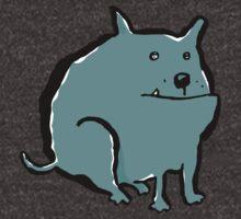 fat dog by greendeer