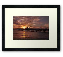 Sunrise in Fort Lauderdale, As Is Framed Print