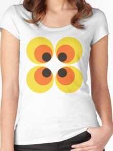 70s Wallpaper Women's Fitted Scoop T-Shirt